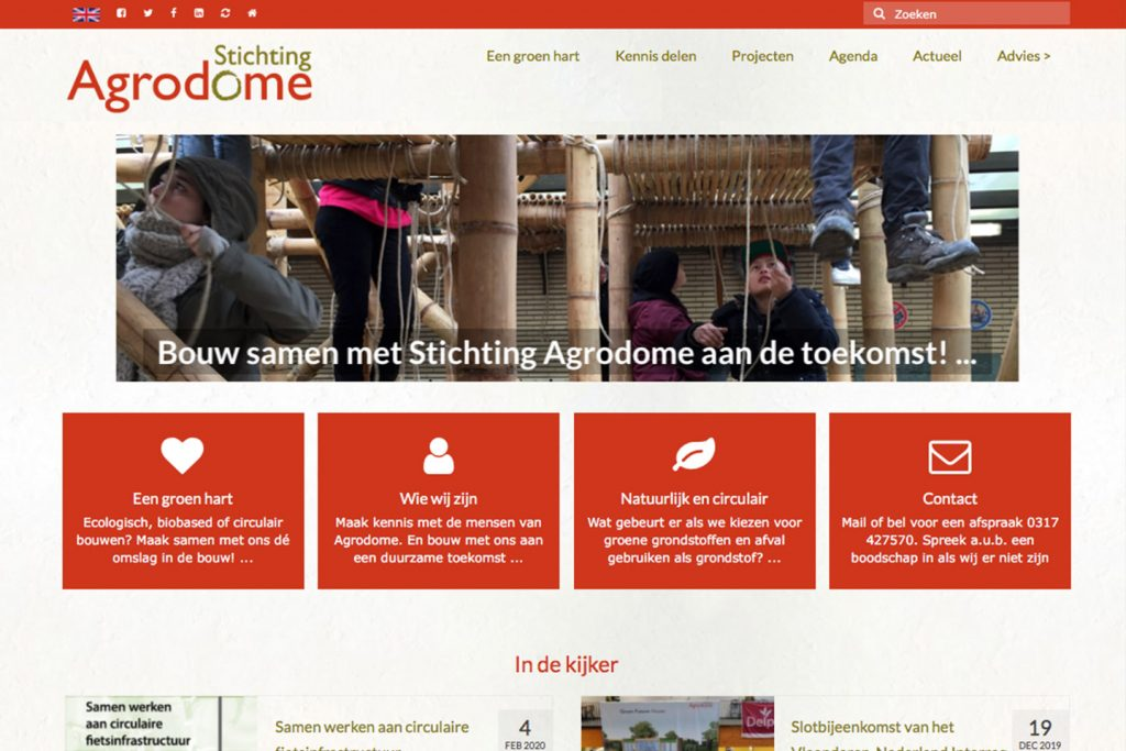 screenshot stichting Agrodome