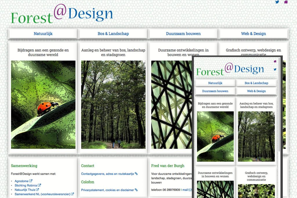 website forest-design-responsive html