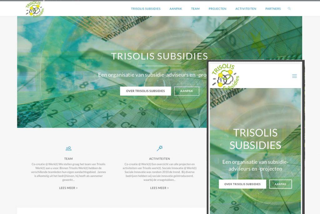 trisolis subsidies homepage